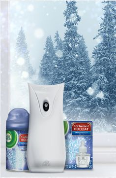 Warm your home with the scent of Fresh Snowfall - Air Wick's Enchanted Holiday Collection
