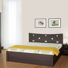 """Midnight Oak Prepared """"King Size Bed Design"""" This Bed Dimension is Approx . Midnight Oak Prepared """"King Size Bed Design"""" This Bed Dimension is Approx X X Particle Board Sofa Bed Design, Bed Frame Design, Bedroom Bed Design, Buy King Size Bed, Wooden King Size Bed, King Size Bed Designs, Double Bed Designs, Bedroom Furniture Sets Sale, Bed Furniture"""