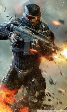 Crysis 2 Shooter Video Game HD desktop wallpaper : Widescreen
