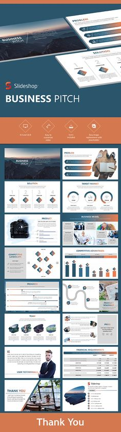 Business Pitch - PowerPoint Template