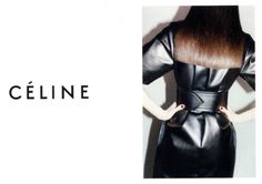 red chanel polish for the celine campaign by sophy robson - classic and tres ysl circa 1967