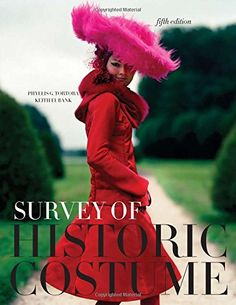 Survey of Historic Costume: A History of Western Dress by Phyllis G. Tortora http://www.amazon.com/dp/1563678063/ref=cm_sw_r_pi_dp_5qX2vb0RMWRMH