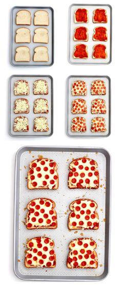 Pizza ToastReally nice recipes. Every hour.Show me what you  Mein Blog: Alles rund um Genuss & Geschmack  Kochen Backen Braten Vorspeisen Mains & Desserts!