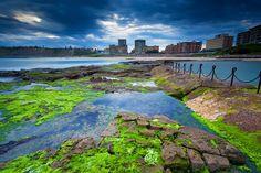 Newcastle Beach: Newcastle, NSW, Australia