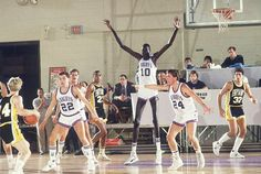 Manute Bol in college
