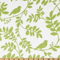 Dwell Studio Botany Flora Leaf - Discount Designer Fabric - Fabric.com ; This might be a possibility.