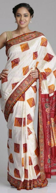 Pochampally silk saree - original pin by @webjournal