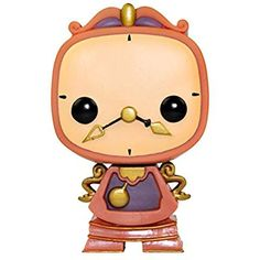 Funko Pop! Beauty And The Beast Cogsworth Vinyl Figure