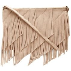 Ella Clutch ❤ liked on Polyvore featuring bags, handbags, clutches, beige handbags, beige clutches and beige purse