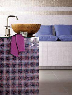 JASBA Orange Bathrooms, Interior Design Tips, Home Interior, Color Inspiration, Bath Mat, House Design, Architecture, Purple, Home Decor
