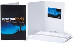 Amazoncom 25 Gift Card in a Greeting Card Amazon Kindle Design ** You can get additional details at the image link.Note:It is affiliate link to Amazon.