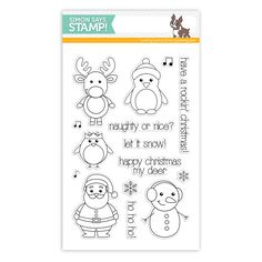 Simon Says with Clearly Besotted Clear Stamps WINTER FRIENDS sss101456 Stamptember at Simon Says STAMP!