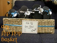 lizzie in progress: DIY Flip Flop Basket