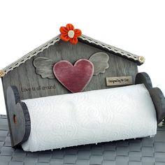 Mukko Home Ahşap Ev Kağıt Havluluk - evmanya.com Survival Shelter, Kitchen Stuff, Love Is All, Painting On Wood, Folk Art, House Design, 3d, Powder Room, Craft