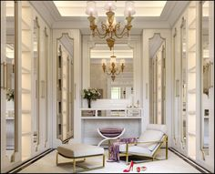 Wardrobe and Bathroom design on Behance Walk In Closet Design, Closet Designs, Showroom Interior Design, Dressing Room Design, Luxury Closet, Luxurious Bedrooms, Luxury Homes, Furniture Design, Behance