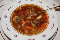 Beef barely soup recipe
