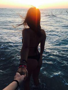 #beach #playa #sun #atardecer #tumblr #she #girl #mar