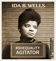 Ida B. Wells fought for women's right to vote. What will you do to carry on her legacy? Women Right To Vote, Be Your Own Hero, Before Us, Working Woman, Female Images, Social Justice, Wells, Along The Way, Black History