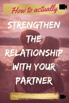 tips to make your relationship stronger with ease! ***Free Communication Training on the 5 simple steps to create an exceptional relationship with your pa. Relationship Building, Strong Relationship, Healthy Relationships, Relationship Advice, Perfect Gif, Perfect Video, Self Value, Ways To Show Love