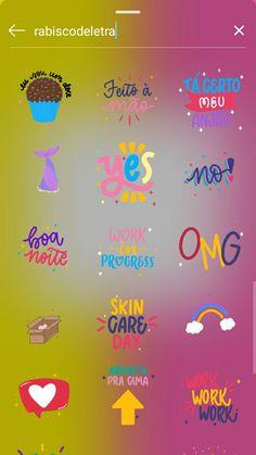 Stickers Instagram, Instagram Emoji, Creative Instagram Stories, Instagram And Snapchat, Instagram Blog, Instagram Story Ideas, Instagram Quotes, Emoji Stories, Instagram Editing Apps