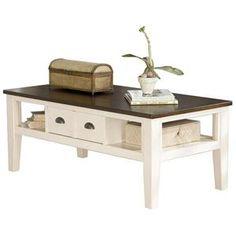 Nebraska Furniture Mart – Ashley Two-Tone Coffee Table