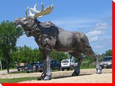 roadside attraction in Riverton Manitoba