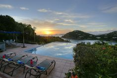 Pull up a lounge chair and enjoy the sunset views of Great Expectations