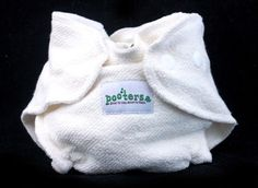 Pooters Newborn Bamboo Fitted Cloth Diaper Review