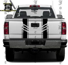 Tailgate Decals Custom Graphic for GMC Sierra Truck Stickers, Truck Decals, Pvc Vinyl, Vinyl Decals, Sierra Truck, Truck Lettering, Chevy 4x4, Racing Stripes, Gmc Trucks