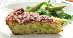 Cheesy Zucchini Pie