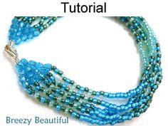 Breezy Beautiful Beaded Bracelet PDF Beading Pattern | Simple Bead Patterns