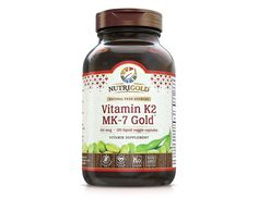 Vitamin K2 MK-7, 100 mcg, 120 Liquid Vegetarian Capsules - The Gold Standard 100% Natural Vitamin K2 in Organic Olive Oil and Certified Free of GMOs and Allergens
