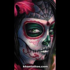 Khan Tattoo - Realistic by khan tattoo, via Flickr