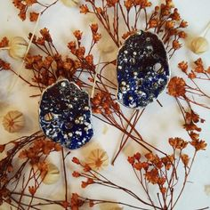 'The blessing wih the arts is that you can do it forever. Blue Flowers, Blessing, 925 Silver, Silver Earrings, Contemporary Art, Fashion Jewelry, Organic, Pearls, Unique Jewelry