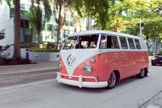 Pink VW on the move  | Flickr - Photo Sharing!  | pinned by  http://www.wfpcc.com/palmbeachrealestate.php