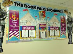 My Sir Read a Lot project board for Fall 2014 book fair.