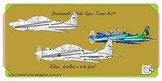AVIÃO A-29 TUCANO DESENHANDO Mostrando outra visualização do Avião Super Tucano A-29, da Força Aérea Brasileira-FAB. Modelo atualmente em operação da Esquadrilha da Fumaça-Brasil. Desenho - Ilustração - Illustration - Drawing http://arterocha.blogspot.com.br