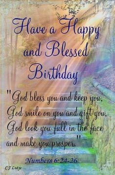 Religious Birthday Wishes Blessings Christian Blessed Quotes Inspirational Happy