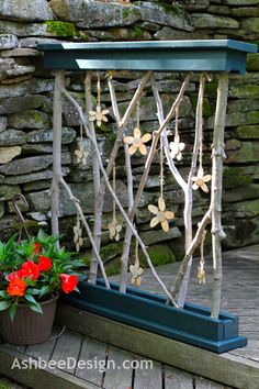 Ideas to do so much out of wooden branches/ twigs
