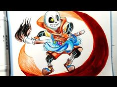 How to draw Ink Sans || Undertale Au Inktale || Vẽ Sans Undertale || Vẽ Ink Sans - YouTube