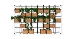 Model of planter box Plant Box, Partition Design, Box Shelves, Modelos 3d, 3d Warehouse, 3d Models, Planter Boxes, Architecture Design, Interior Design