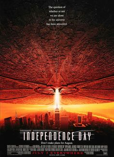 Independence Day (1996) Original Style C One Sheet Movie Poster