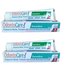 Takecare Lifesciences Odontocare-f 100 Gm Pack Of 2 At Rs 61