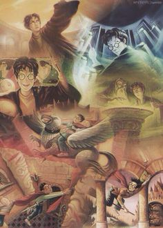 The covers of the books brought together