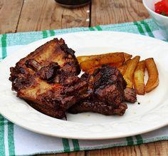 Ha kipróbálod a sörben sült, pácolt oldalast, fantasztikus ízélményben lesz részed. Beef Recipes, Sausage, Food And Drink, Meat, Meat Recipes, Sausages, Chinese Sausage