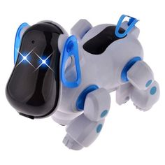 UTOYSLAND Cute Smart Robot Electronic Walking Pet Patrol Dog Puppy Juguetes Toys with Music Light for Children Kids