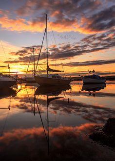 ⚓ Cramond Harbour, Edinburgh.