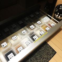 Kitchen/収納/100均/調味料/キャンドゥ/ラベル...などのインテリア実例 - 2016-12-27 01:03:19