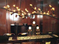 Citrine Chandelier made by Jan at Interior Design Gallery - AMAZING!