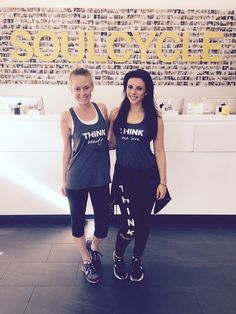THINK Beauty & One Love #THINK #beauty #onelove #positive #fitness #workout #soulcycle #charity #mentalhealth #positivethinking #tanks #yogapants